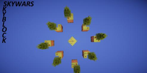 SkyWars/SkyBlock скриншот 1