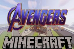 Скачать Avengers End Game Base для Minecraft 1.12.2