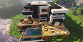 Скачать Maden Mansion для Minecraft 1.14.2