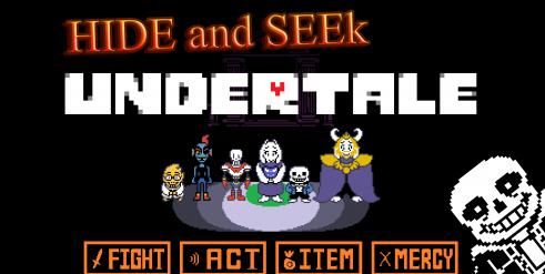 Undertale: Hide and Seek - Прятки скриншот 1