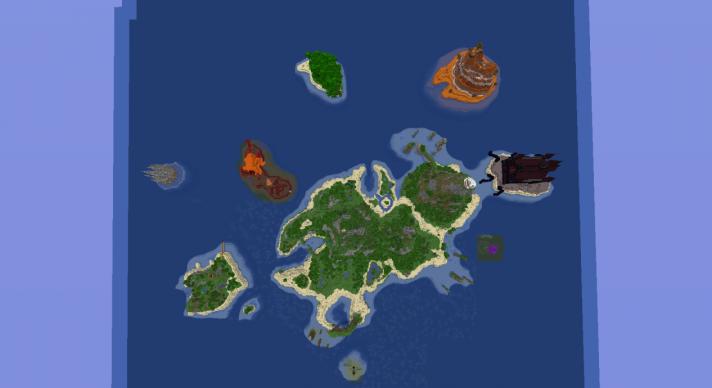 Ender Island скриншот 2