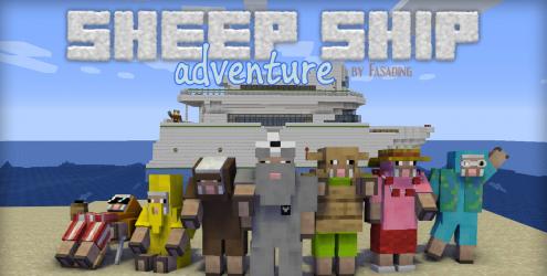 Sheep Ship Adventure скриншот 1