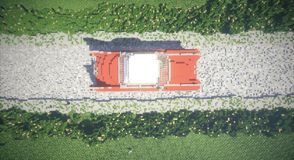 Cadillac deville Coupe 1959 в Minecraft скриншот 1