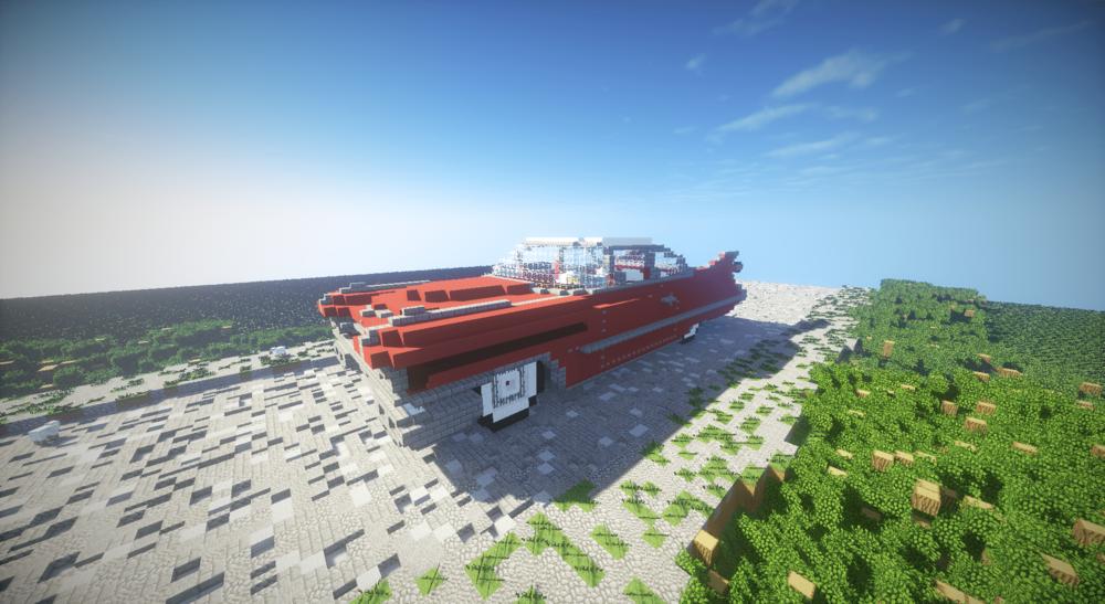 Cadillac deville Coupe 1959 в Minecraft скриншот 2