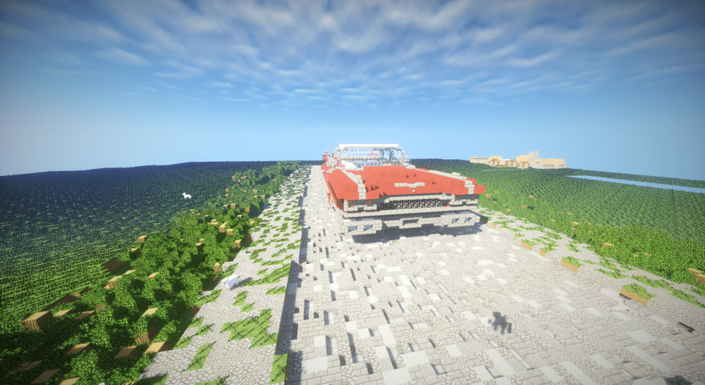 Cadillac deville Coupe 1959 в Minecraft скриншот 2