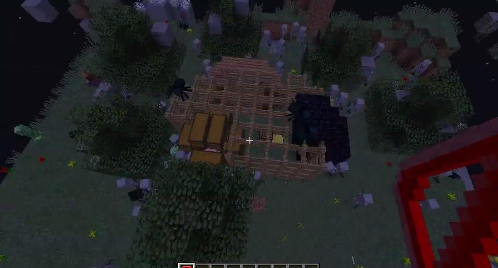 Паркур со злыми мобами скриншот 1