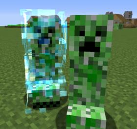 Скачать Naturally Charged Creepers для Minecraft 1.13.2