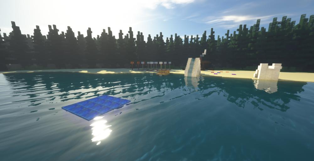 Озеро в лесу скриншот 2