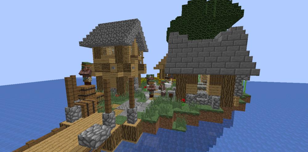 Village on water скриншот 1
