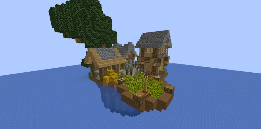 Village on water скриншот 2