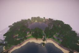 Скачать Jungle Castaway Survival Spawn для Minecraft 1.14.4