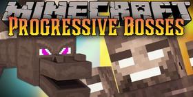 Скачать Progressive Bosses для Minecraft 1.14.3