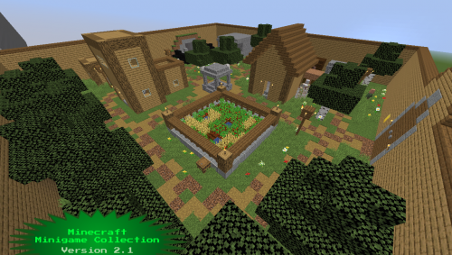 Minecraft Minigame Collection скриншот 2