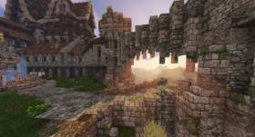 Скачать Gothic Manor для Minecraft 1.14.4