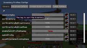 Скачать Inventory Profiles для Minecraft 1.15