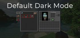 Скачать Default Dark Mode для Minecraft 1.15