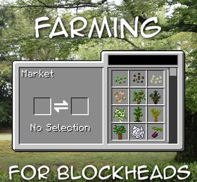 Скачать Farming for Blockheads для Minecraft 1.14.4