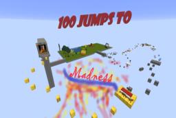 Скачать 100 Jumps to Madness для Minecraft 1.15.2